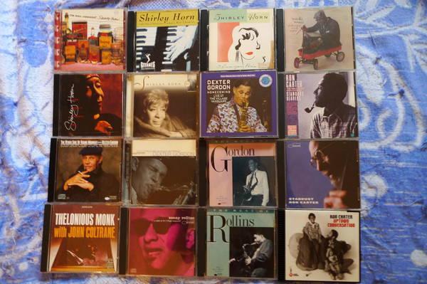 32 Various Jazz Cd'S - coltrane,rollins, gordon ,etc