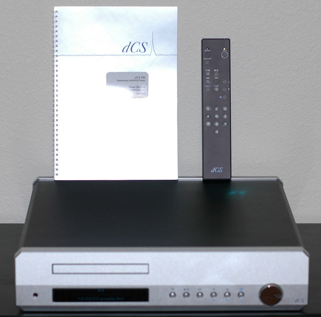 dCS P8i Upsampling SACD/CD Player Complete Recently serviced by dCS