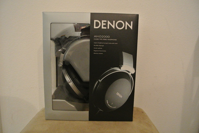 Denon AH-D2000 High Performance Over-Ear Headphones [BNIB / Authorized Retailer / Full Warranty]