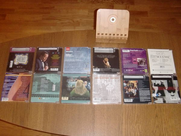 Dvd Audio Rare - 12 disc collection combo sale/incl.shipping!