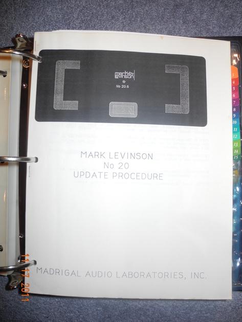 Mark Levinson 20.6 Monaural power amplifiers
