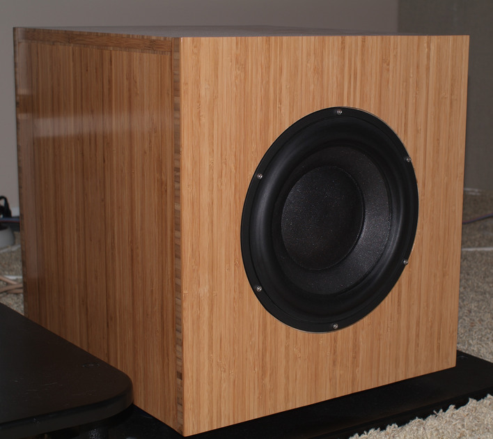 Morel Ultimate Subwoofer Custom state of the art driver with high quality sub amplifier
