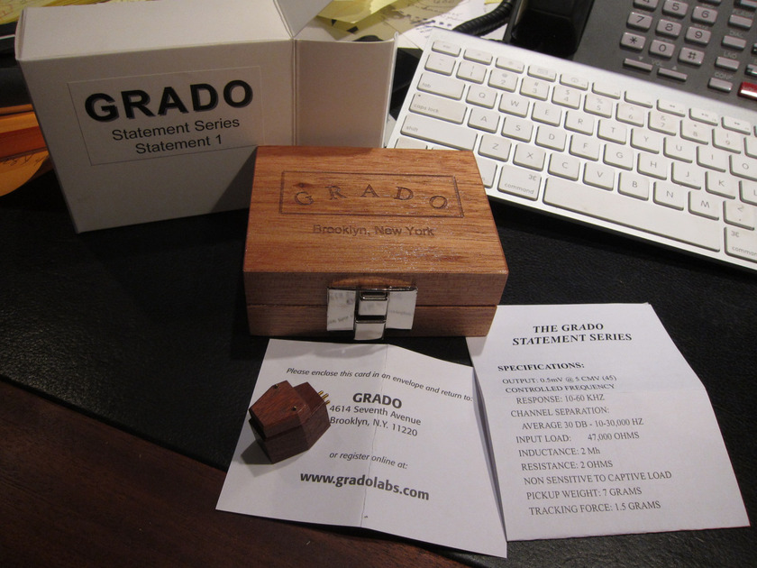 Grado Statement 1 Incredible Cartridge - Highly Praised