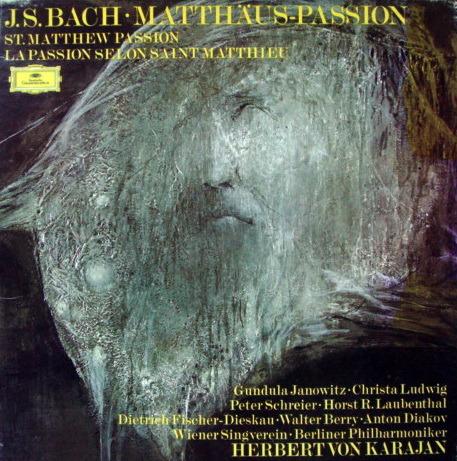 DG / Bach St. Matthew Passion, - KARAJAN/BPO, MINT, 4LP Box Set!