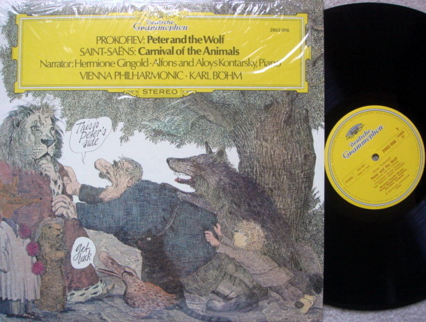DG / Prokofiev Peter and the Wolf, - BOHM/VPO, MINT!