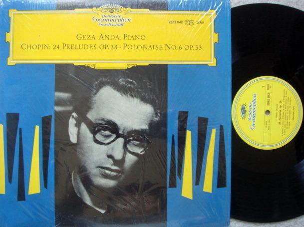 DGG / Chopin 24 Preludes, - ANDA, MINT!