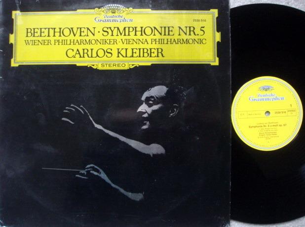 DG / Beethoven Symphony No.5, - KLEIBER/VPO, NM-!