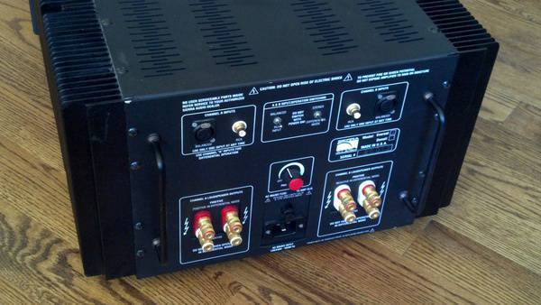 Pbn Sierra Audio Everest monoblock/stereo amp