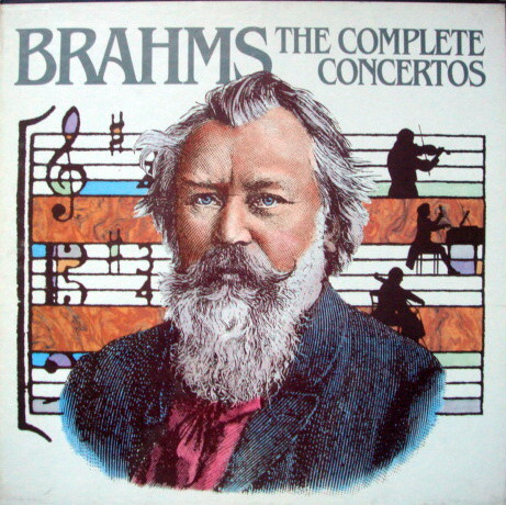 DG / Brahms The Complete Concertos, - GILRELS/MILSTEIN/SCHNEIDERHAN/STARKER, MINT, 4LP Set!