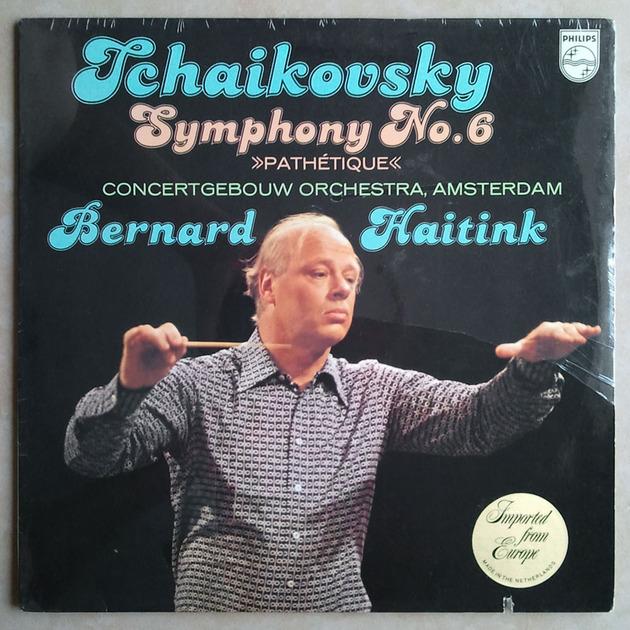 "Philips/Haitink/Tchaikovsky - Symphony No.6 ""Pathetique"" / MINT"