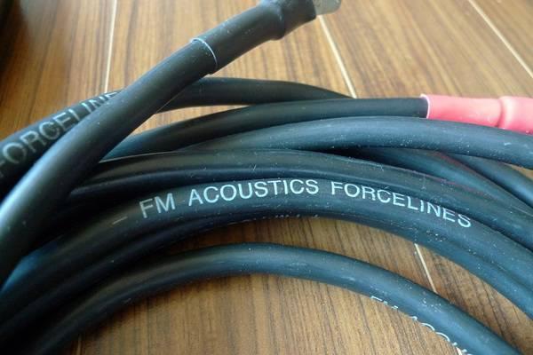 FM Acoustics Forcelines 5 speaker cables