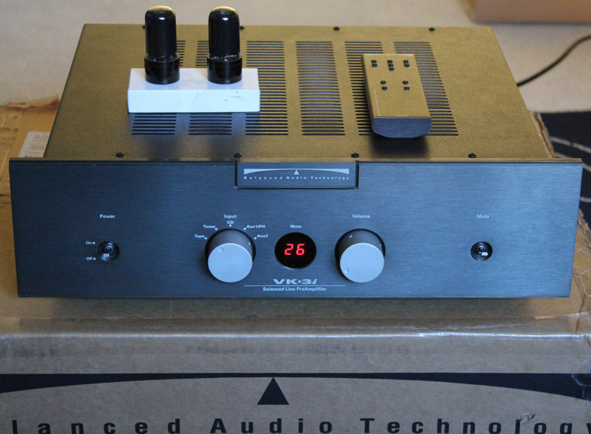 BAT VK-3i Balanced Audio Technology preamp