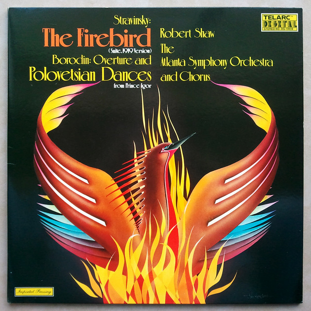 Telarc/Robert Shaw/Stravinsky The Firebird, - Borodin: Overture Polovetsian Dances / NM