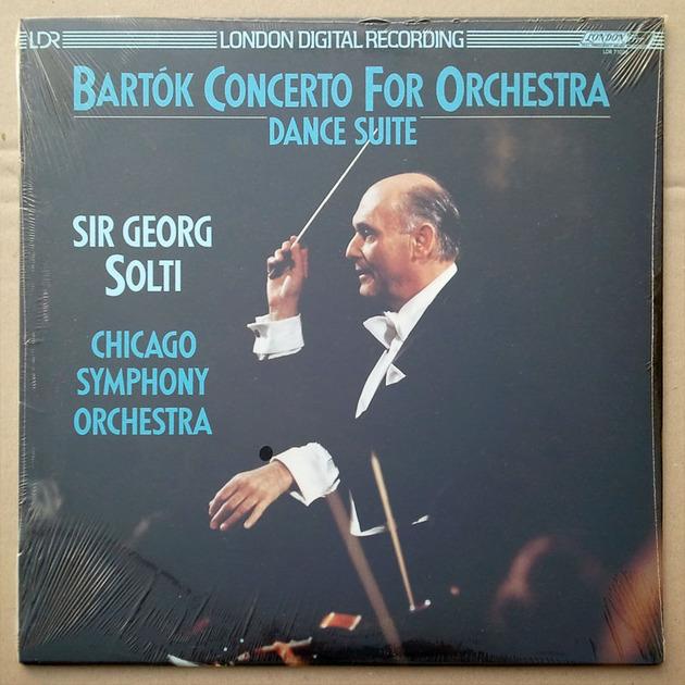 SEALED/London/Solti/Bartok - Concerto for Orchestra, Dance Suite