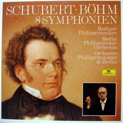 DG / Schubert The Complete 8 Symphonies, - BOHM/BPO, MINT, 5LP Box Set!