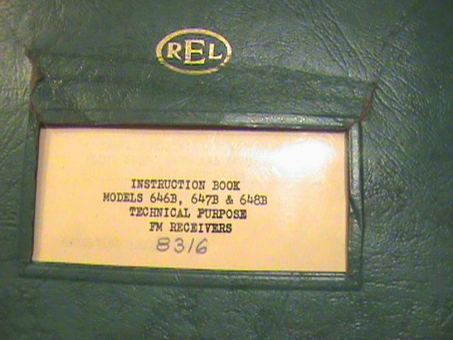 REL 647B Precedent 646C predecessor.