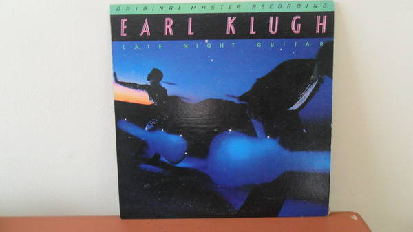 Mobile Fidelity 1/2 - SPEEd: earl klugh late night guitar; mint -