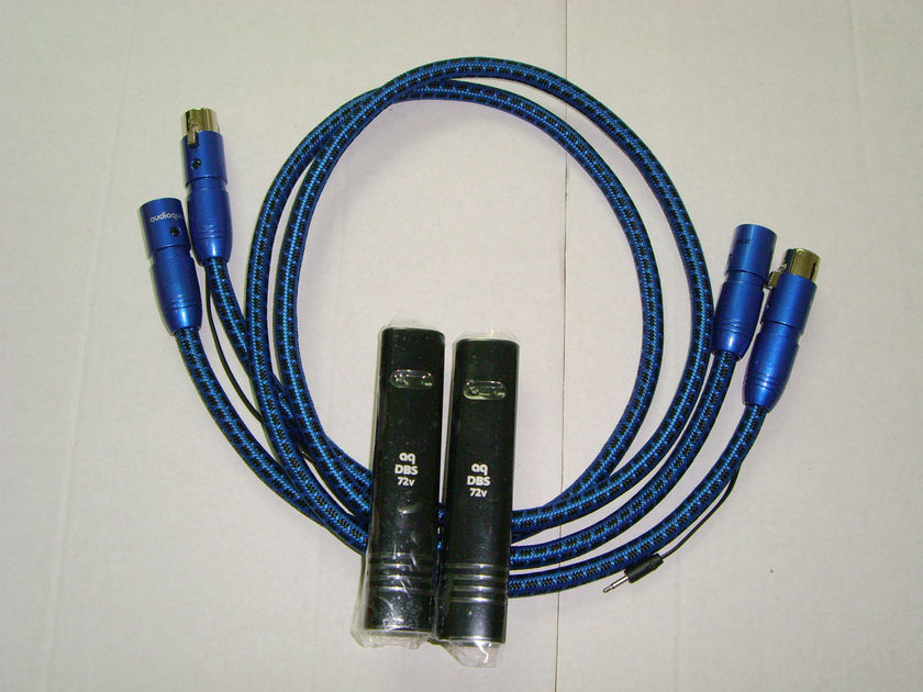 Audioquest SKY 2-2 or 2-4 plugs cable xlr or rca 2mt (1pair)