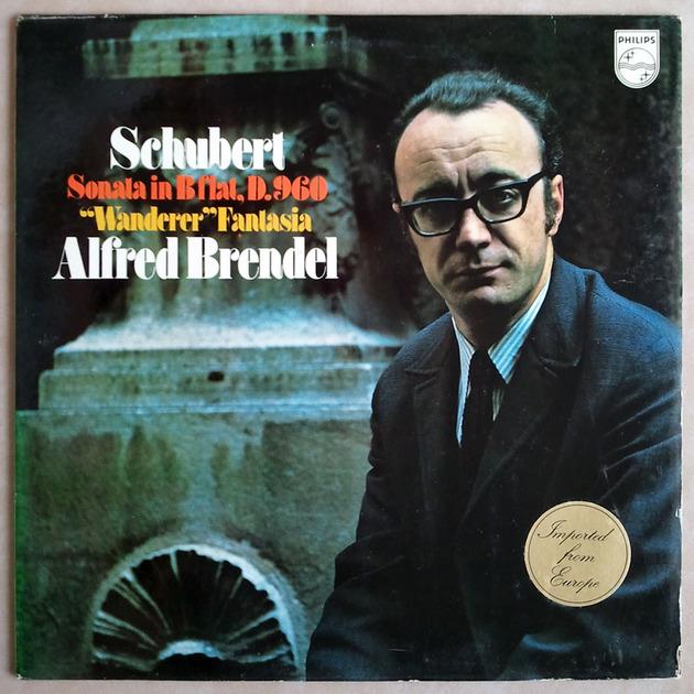 Philips/Brendel/Schubert - Sonata in B flat D.960, Wanderer Fantasia / NM