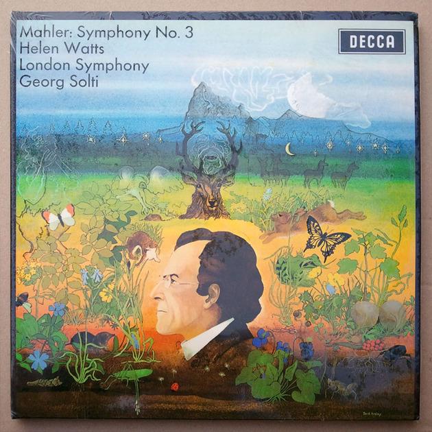 Audiophile 180g/Decca/Solti/Mahler - Symphony No.3 / MINT