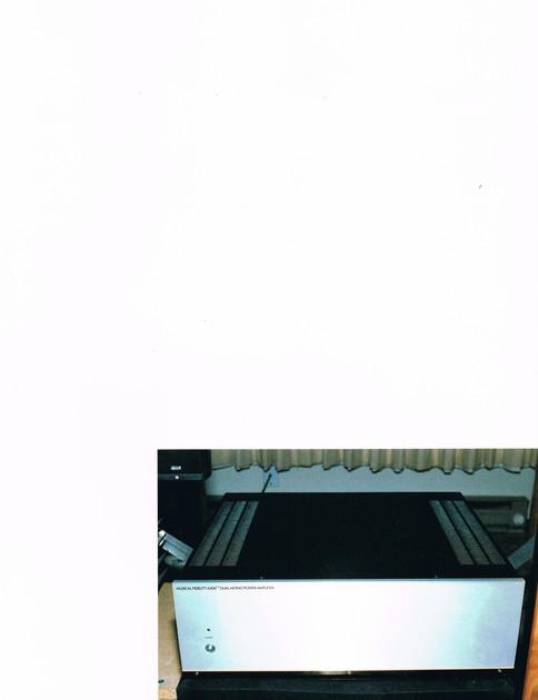Musical Fidelity A300CR Dual Mono Power Amplifier