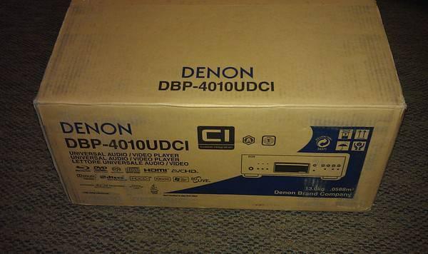 Denon dbp-4010udci blu-ray universal player