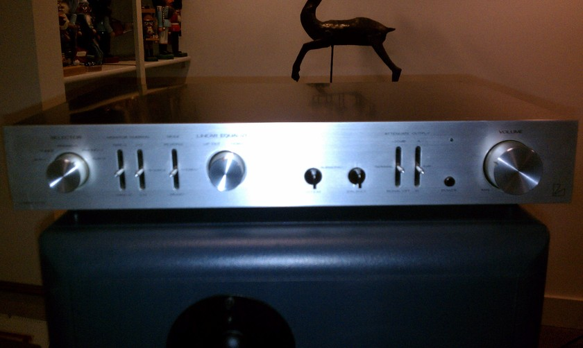 Luxman CL32 Tube Preamplifier