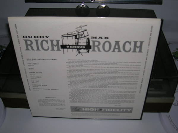 Buddy Rich And - Max Roach - Rich versus roach - orig. 1959 mono