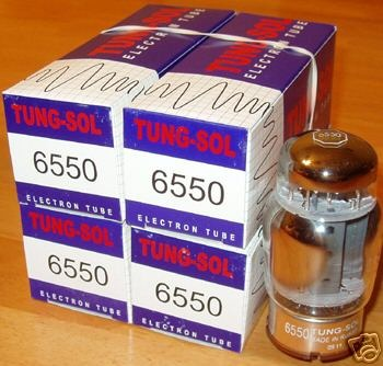 Tung sol 6550 tubes, reissue brand new matched quads !