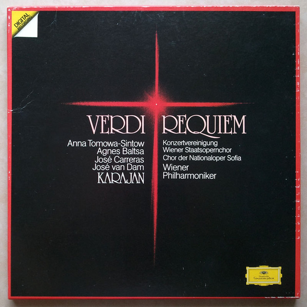 DG/Karajan/Verdi - Requiem / 2-LP Box Set / EX