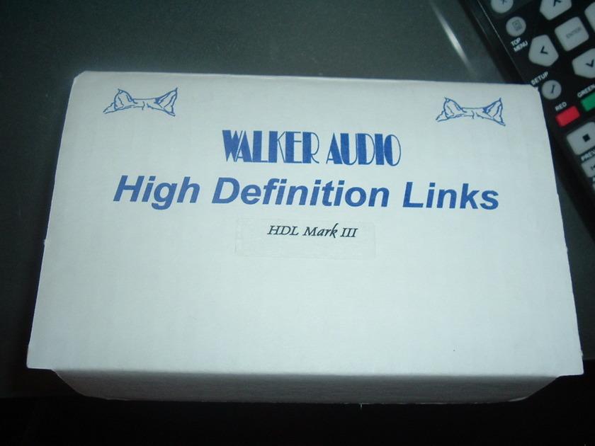 Walker Audio High Definition Links Mark lll latest version
