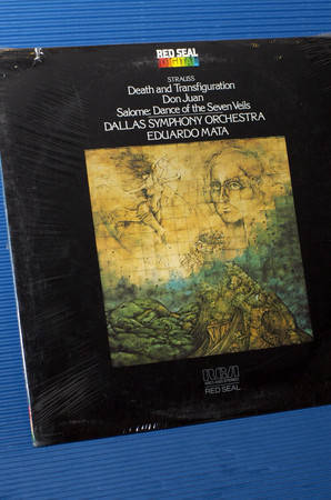 "STRAUSS/Mata -  - ""Death & Transfiguration"" - RCA digital 1982 Sealed"