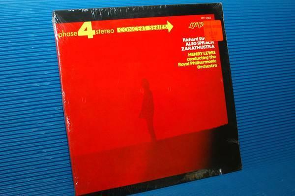 """STRAUSS/Lewis - Also - """"Also Sprach Zarathustra"""" - London phase 4 1969 sealed!"""