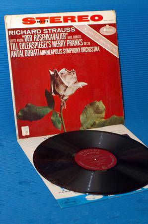 "STRAUSS/Dorati - - ""Suite from Der Rosenkavalier"" -  Mercury Living Presence 1959 Early pressing"