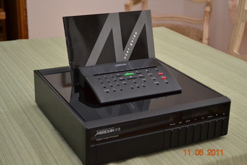 Meridian 518 w/MSR Remote Digital Processor