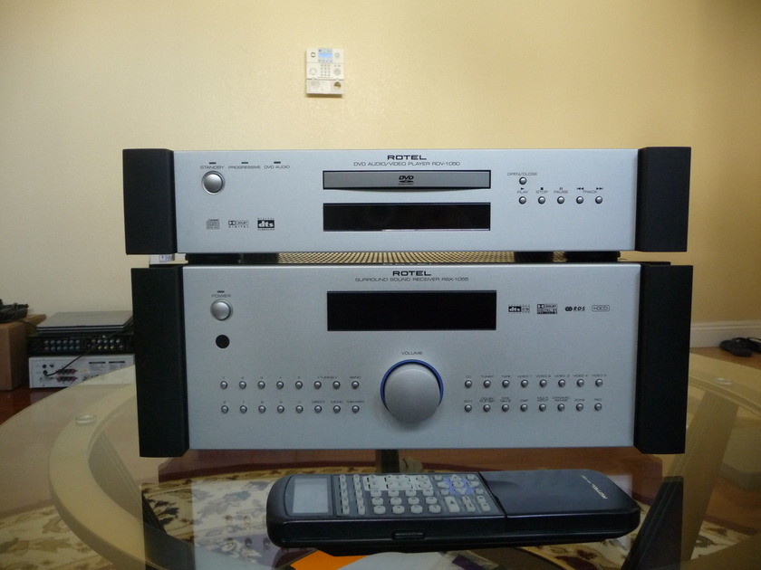 Rotel Surround Sound Receiver RSX1055  and DVD Audio/Video Player a RDV1050 -Very Nice Condition.