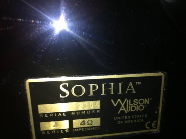 Wilson Sophia 2 Black