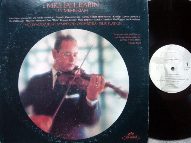 EMI Angel / MICHAEL RABIN - Magic Bow Re-Issue, NM-!