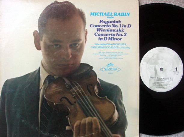 EMI Angel / Paganini Violin Concerto No.1 & 2, - RABIN, EX!