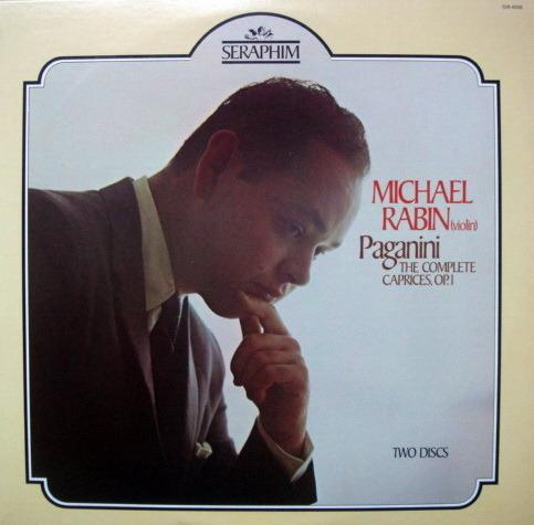 EMI Angel / Paganini The Complete Caprices, - MICHAEL RABIN, MINT, 2LP Set!