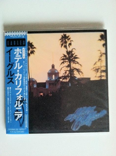 the eagles - hotel california japan lp cd