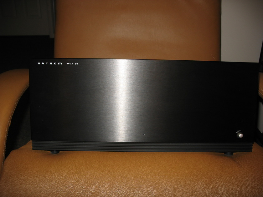 Anthem MCA 20 Stereo Amplifier