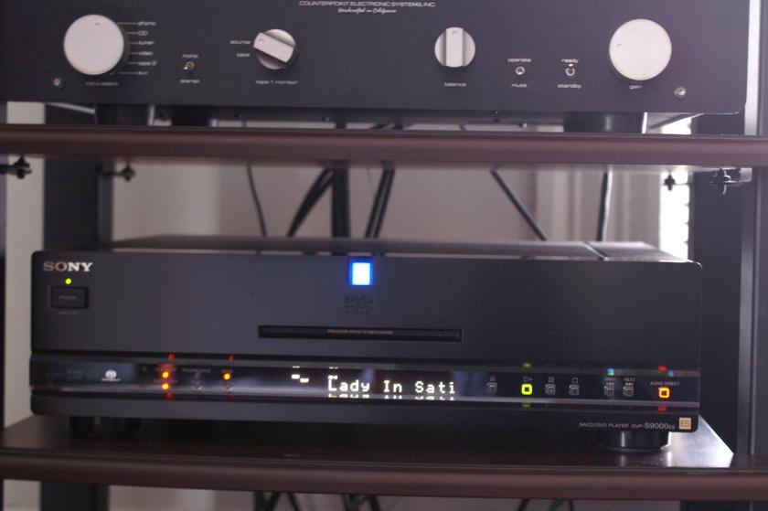 Sony DVP-S9000es CD/DVD/SACD player
