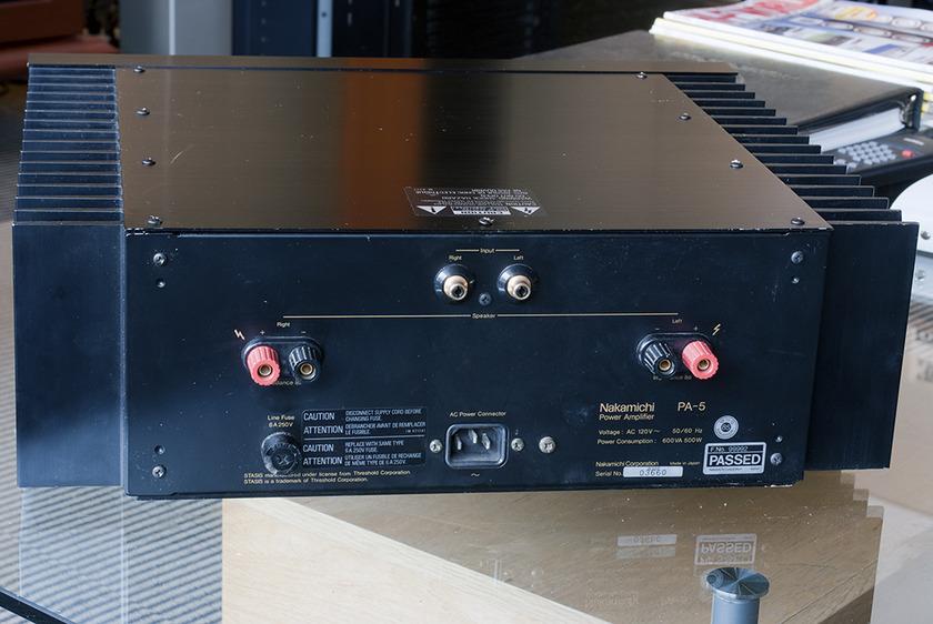 Nakamichi PA-5 Power amplifier; 100w x 2