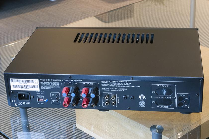Arcam Diva P90 power amplifier; 90w x 2