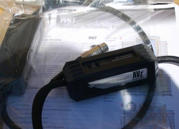 MIT AVT MA XLR 2m pr NEW, 2012 Model LIFETIME WRNTY