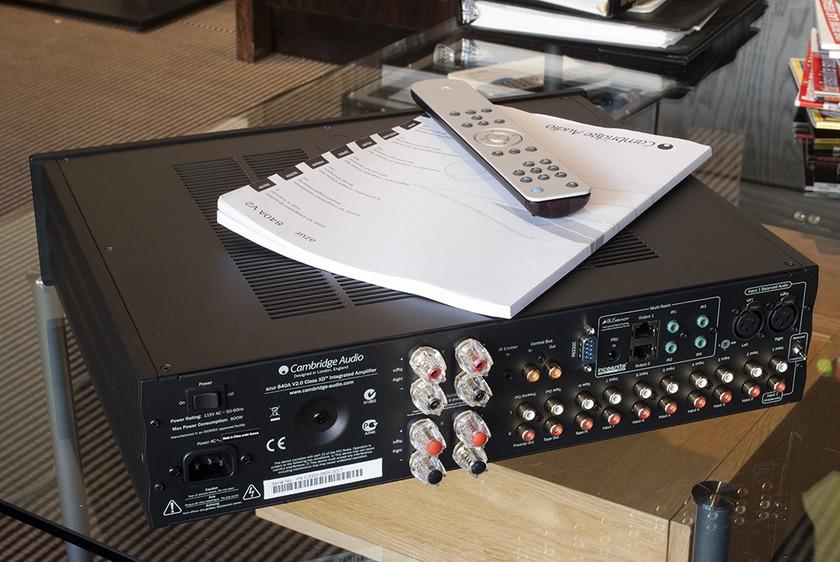 Cambridge Audio Azur 840A v2 Integrated Amplifier; 120w x 2