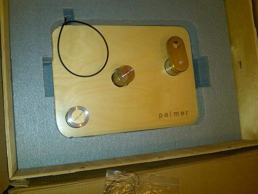Palmer  2.5 Turntable and Silver Platter With Origin Live Conqueror MK3C Tonearm
