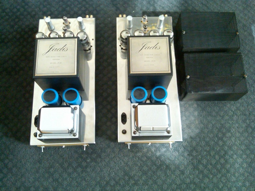 "Jadis JA-80 Monoblock Amplifiers ""Used"" With Original Boxes"