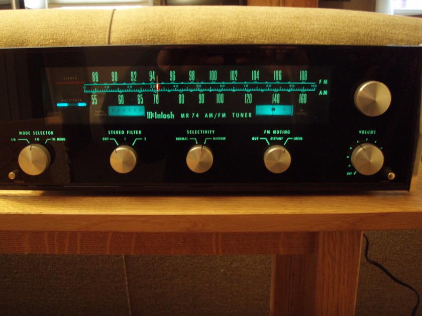 McIntosh MR 74 MR 74 Tuner